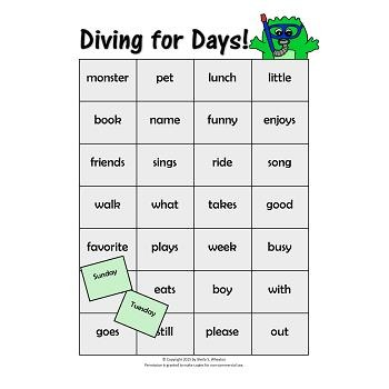 Working Words Bundle Set 3: Days of Week, Question Words & Answers, Compounds