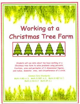 Working at a Tree Farm