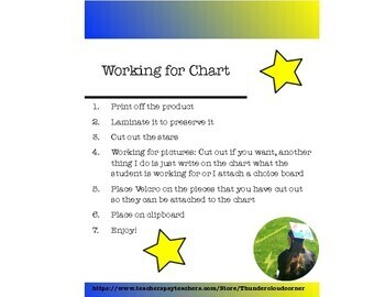 Working for Chart