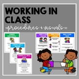 Working in Class- procedures and visuals