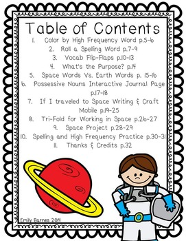 Working in Space Journeys 2nd Grade Supplement Activities Lesson 28