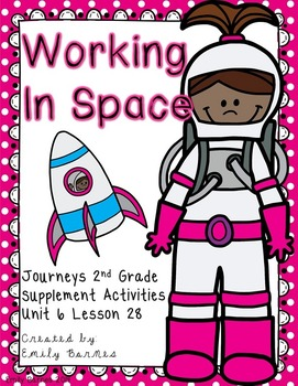 Working in Space Journeys 2nd Grade Supplement Activities