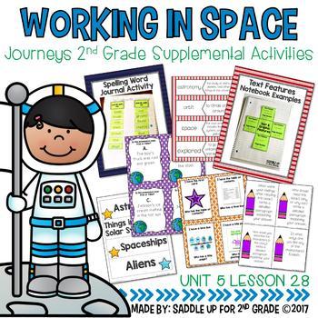 Working in Space Supplemental Activities
