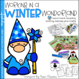 Winter Activities - Writing and Reading Lessons - Working in a Winter Wonderland