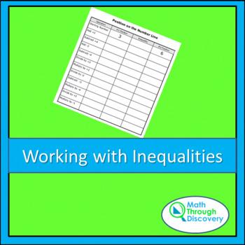 Algebra:  Working on Inequalities