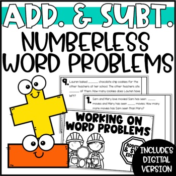 Differentiated Word Problems: Mixed Addition & Subtraction