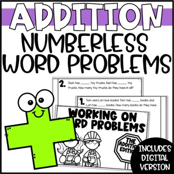 Differentiated Word Problems: Addition