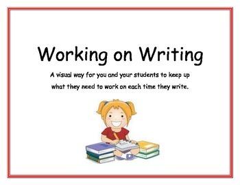 Working on Writing
