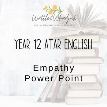 Working to understand empathy and controversy: Power Point