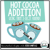 3.NBT.A.2 - Working with 3 2-Digit Addends Hot Cocoa Addition Activity