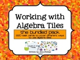 Working with Algebra tiles -The Bundle