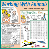Working with Animals and Pets (Jobs, Careers and Labor Day)