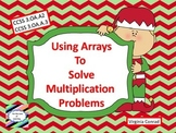 Arrays in Multiplication -- Christmas Theme