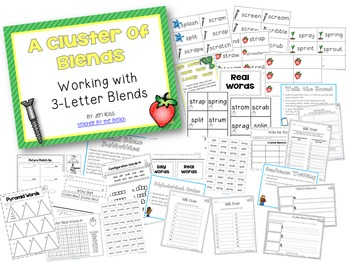 Working with Blends: 3-Letter Blends (Trigraphs)