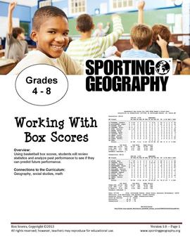 Working with Box Scores
