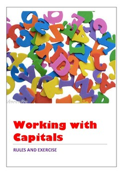 Working with Capitals - Rules and Exercises