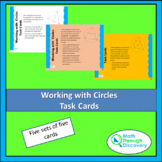Working with Circles Task Cards