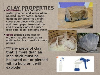 Working with Clay Presentation