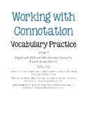 Working with Connotation