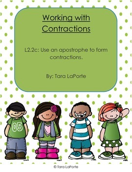 Working with Contractions L2.2c