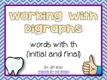 Working with Digraphs: th words
