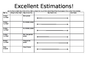 Working with Estimation