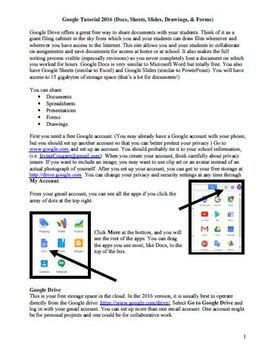 Working with Google Docs 2017 (Tutorial)