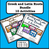 Greek and Latin Roots Bundle - (10 activities)