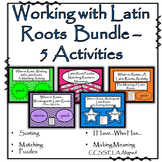 Latin Roots - Bundled (5 sets)