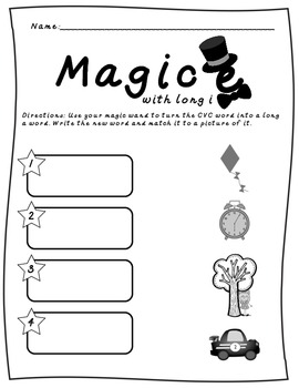 Working with Magic - Unit 1, 6 week Reading Activities