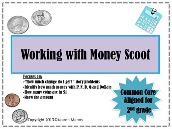 Working with Money Scoot