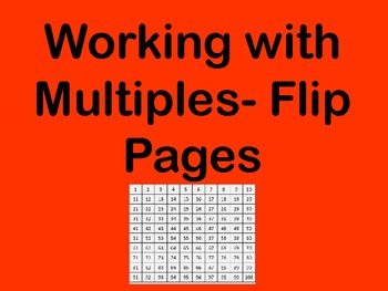 Working with Multiples- Flip Pages