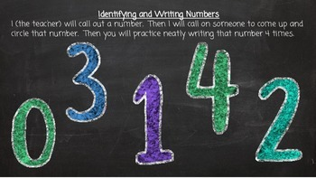 Working with Numbers 0-10