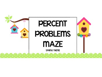 Working with Percents Maze