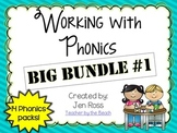 Working with Phonics: BIG BUNDLE #1