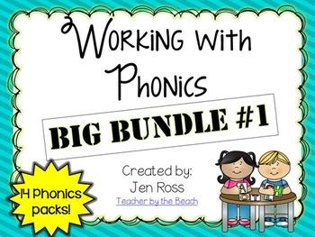 Working with Phonics: BIG BUNDLE #1