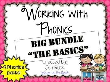 Working with Phonics: THE BASICS BUNDLE