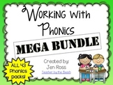 Working with Phonics and Grammar: MEGA BUNDLE