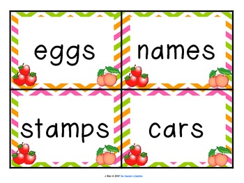Working with Plurals: Adding -s and -es