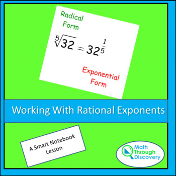Algebra:  Working with Rational Exponents