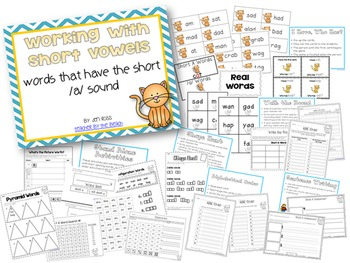 Working with Short Vowels: Short A