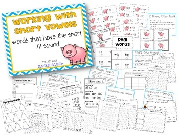 Working with Short Vowels: Short I