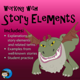 Story Elements - Explanations, Examples, and Practice PowerPoint