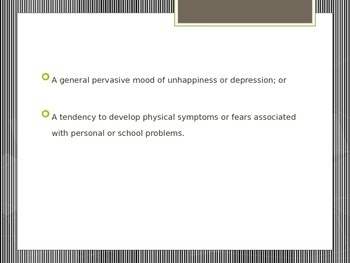 Working with Students with Emotional Disturbance