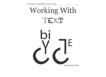 Working with Text - I/S Art Activities in Lettering and Font Design