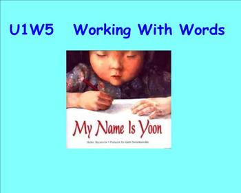 Working with Words SMART notebook for Grade 2 Treasures 1.5