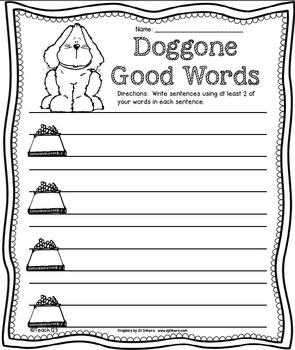 Word Work Easy Prep