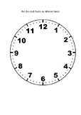 Working with clocks