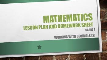 Grade 7 Working with decimals (2)