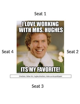 Working with teacher table label